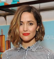 rose byrne in variety studio presented by moroccanoil at holt