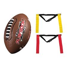 Flag Football Equipment Franklin Sports Mini Playbook Flag Football Set Review Youth