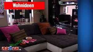 Wohnzimmer Einrichten Mit Schwarzem Sofa Wohn Und Essbereich In Perfekter Harmonie Einrichten Roller