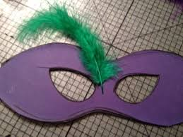 green mardi gras mask diy mardi gras feather mask cheap and emily s enchantments