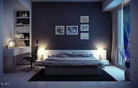 chambre de travail chambre coucher sombre avec bureau travail jpg 600 384 déco