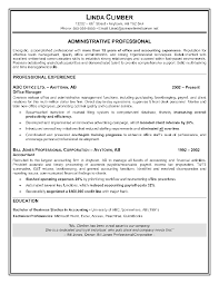 How To Write Summary Of Qualifications Example Of Resume Application