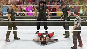 wwe 2k16 ps4 british bulldog vs x pac vs rikishi full match wwe 2k16 they killed him the shield vs the wyatt family