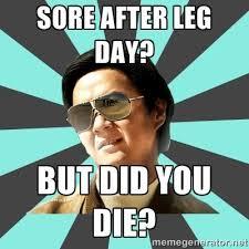 Leg Day Meme - 25 hilarious after leg day meme sayingimages com
