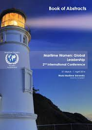 maritime women global leadership 2014 book of abstracts by