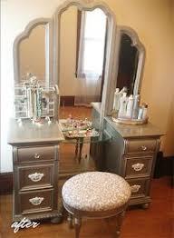 Refinish Vanity Cabinet Best 25 Refurbished Vanity Ideas On Pinterest Desk To Vanity