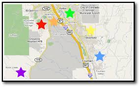 fort carson map colorado springs estate connection estate