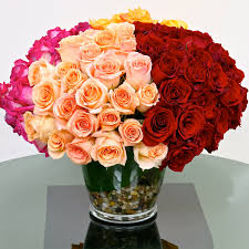 100 Roses 100 Mix Roses In West Hollywood Ca Los Angeles Florist