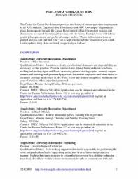 Good Resume Layout Example by Examples Of Resumes Curriculum Vitae Example South Africa With