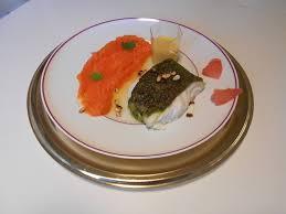 une mousseline en cuisine recettes de cuisine cabillaud en croûte d agrumes et herbes