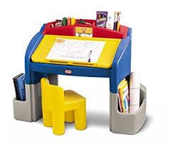 Desk Toys Amazon Com Little Tikes Hideaway Art Desk Toys U0026 Games