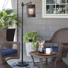 Patio Table Lamps Splendid Outdoor Patio Floor Lamps And Decor Ideas Wall Set 7