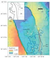 physical map of oregon juan de fuca plate global volcanism program axial seamount