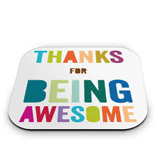 thanks for being awesome mouse pad desk accessories mice and desks