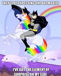 Batman Funny Meme - batman has the element of surprise on his side funny dank memes