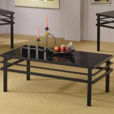 coffee table cherry coffee table end tables 3pc set wclear glass