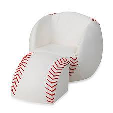 baseball chair and ottoman set gift mark baseball chair ottoman set bed bath beyond