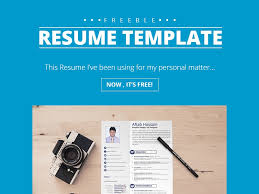2 page resume template free psd psdfinder co