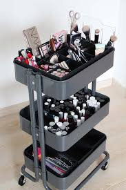 ikea makeup organizer 25 diy makeup storage ideas that will save your time