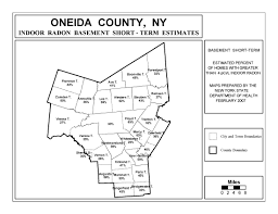 Map Of Warren County Nj Radon New York State Department Of Health Wadsworth Center