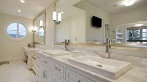 bathroom the beauty of white framed bathroom mirror youtube