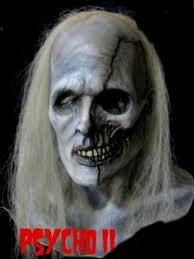 Psycho Halloween Costume Mask Psycho Ii