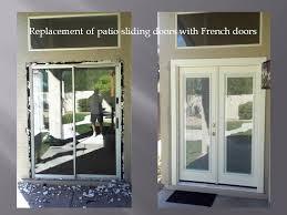 Patio Sliding Glass Door Removing Patio Sliding Door And Installing Doors With Mini