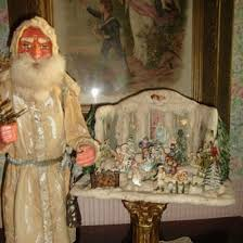 Antique Christmas Decorations Santa Claus by 98 Best Snow Houses Images On Pinterest Antique Christmas