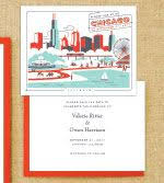 wedding invitations chicago chicago themed wedding invitations yourweek c16405eca25e