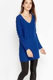 wool blend v neck jumper dress just 5