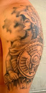 blindside tattoo studio the aztec warrior cuauhtemoc
