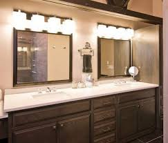 bath vanity light fixtures white finish stained plastering ceiling