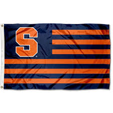Clemson Flags College Flags And Banners Co Syracuse Orange Nation Stripes Flag