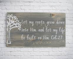 amazon com christian wood sign u2013 bible verse wall art wood wall