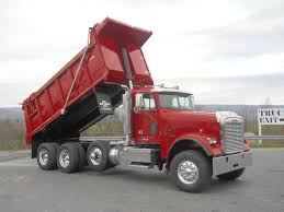 2006 volvo truck tri axle steel dump trucks for sale