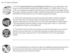 faculty led u2013 payment process u2013 international the university of