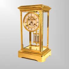 Mantel Clocks Antique Antique French Four Glass Mantel Clocks Youtube