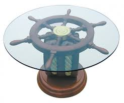 furniture nautical coffee table solid maple coffee table