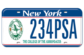 Nys Vanity Plates Ways To Give Give