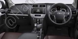 2018 toyota land cruiser prado price interior specs engine design