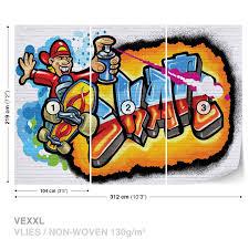 wall mural photo wallpaper xxl graffiti skate 3052ws ebay wall mural photo wallpaper xxl graffiti skate 3052ws