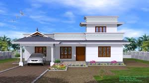 4 bedroom single storey house plans kerala youtube