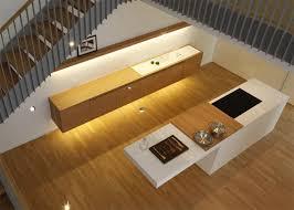 Kitchen Stairs Design Kitchen Under The Stairs