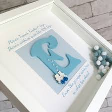 boy u0027s wooden letters initial frame personalised gift children u0027s