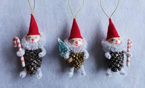 diy pinecone gnome ornament tutorial part 1