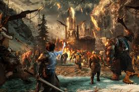 fortress siege shadow of war s fortress siege is e3 s best thrill ride the verge