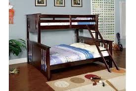Espresso TwinQueen Bunk Bed Orange County Furniture Warehouse - Espresso bunk bed