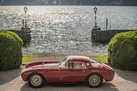 1954 maserati a6gcs maserati a6 gcs voted u0027best in show u0027 at villa d u0027este 2016