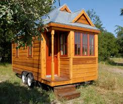 Pictures Of Small Houses Exterior Design Exciting Tumbleweed Tiny House With White Wood