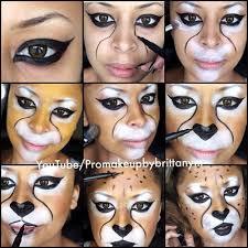 animal makeup tutorials halloween costumes hacks